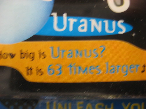 How big is Uranus?