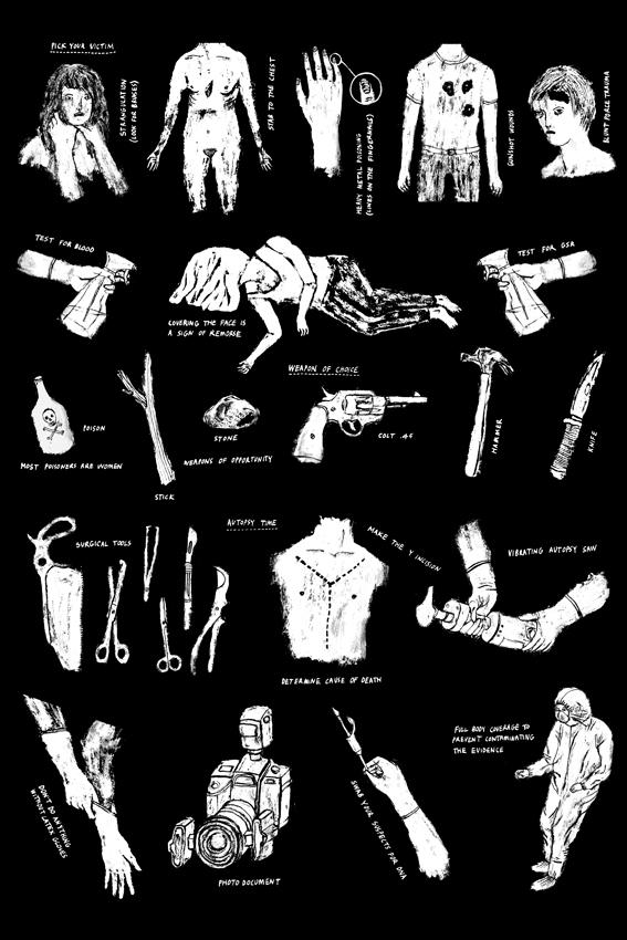 murder cd poster