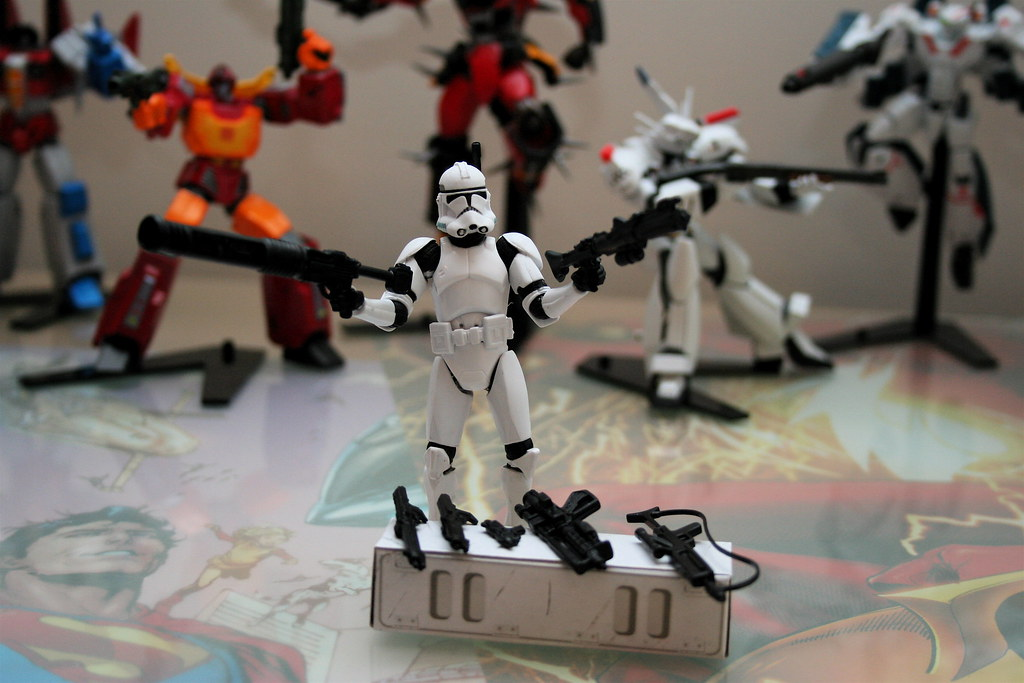 Star Wars Clone Trooper Legacy Collection Saga Legends