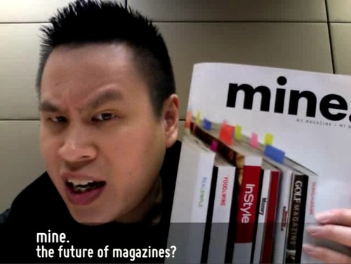 mine - the future of magazines?