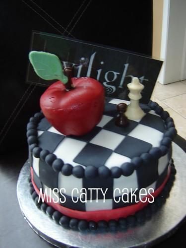 Taylor's Twilight Birthday Cake