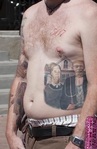 gothic tattoos. American Gothic tattoo