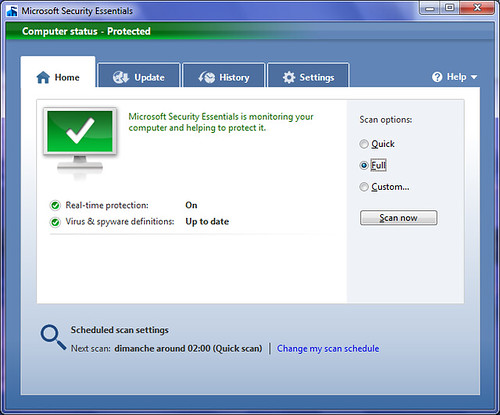 Microsoft Security Essential by squastana.