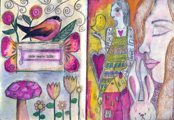 art journal july - this magic life
