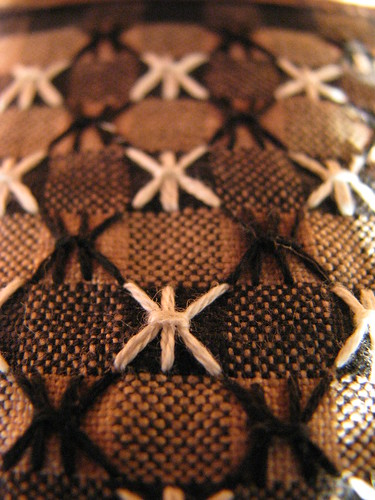 TAST week 28 Sheaf Stitch