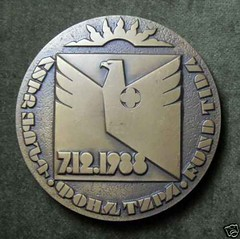 Armenian Earthquake Medal Rev