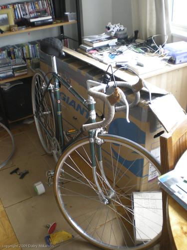 Bike all ready to test