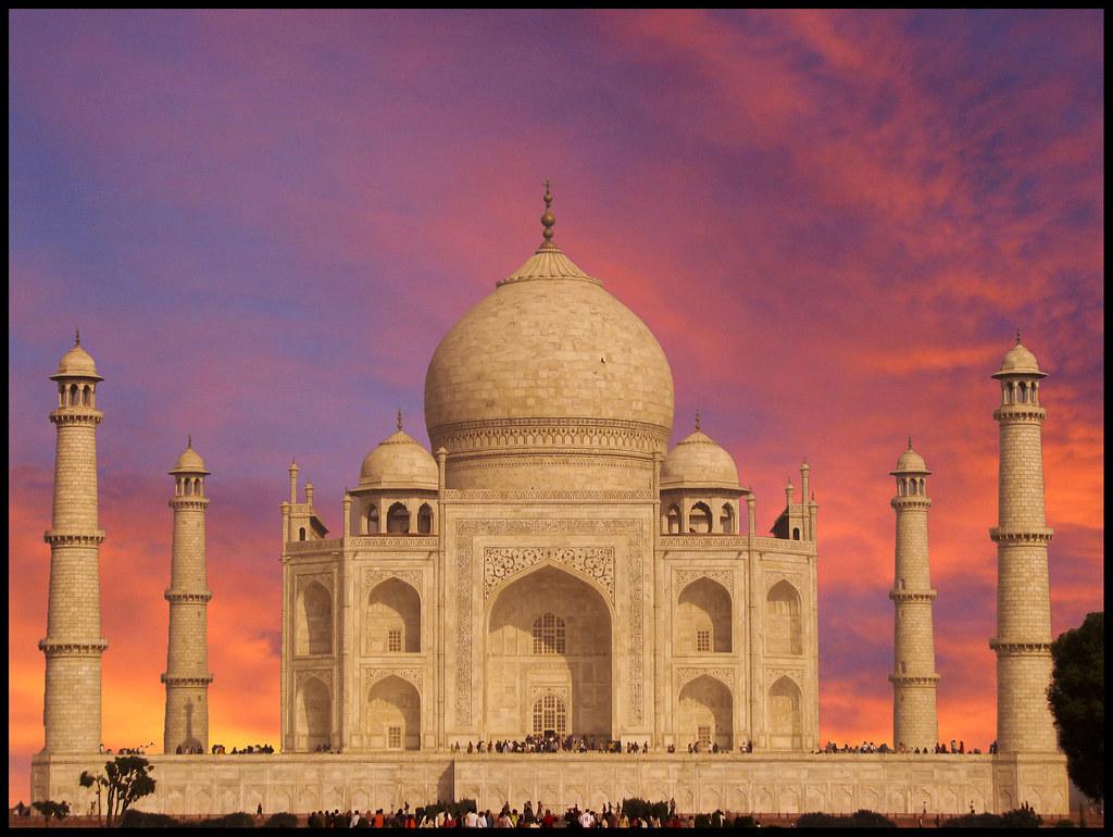 Monument Of Love - Taj Mahal.. Photoshopped ...EXPLORED # 6 on Aug 26