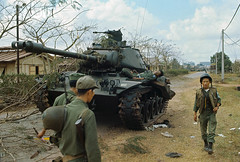 South Vietnamese Troops Passing Dead Body on Tank (manhhai) Tags: people death war asia southeastasia battle vietnam southvietnam historicevent asianhistoricalevent northamericanhistoricalevent unitedstateshistoricalevent vietnamwar19591975 vietnamesehistoricalevent