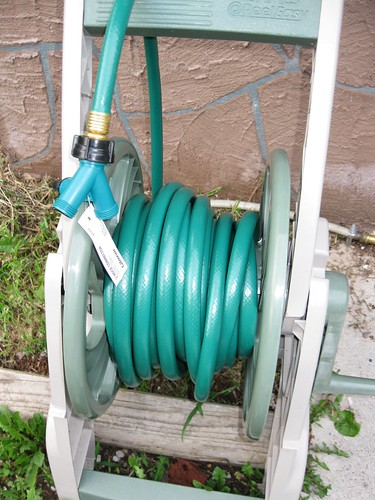 Hose Reel and Adapter