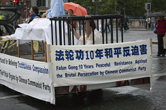 Falun Gong Practitioners Directing Attention T...