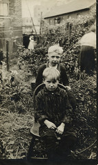 Cas? and friend (foolofgrace) Tags: 1920s 1922 bridgeport cas
