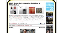 ZEVS' Chanel Store Liquidation Could Cost A Million Dollars - ANIMAL_1248431514626