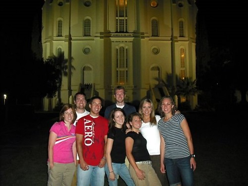 St George Temple Group Photo