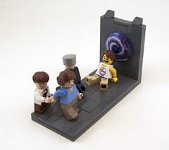 """It's the Fleshie Dimension!"" (Titolian) Tags: flesh lego fig space portal sig dimension"