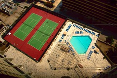 Hilton Pool and Tennis Courts