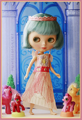 """""""Look Momma! I made a dress for the dolls!"""""""