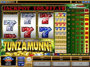Tunzamunni slot game online review