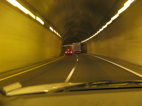 Tunnel on the North Carolina side