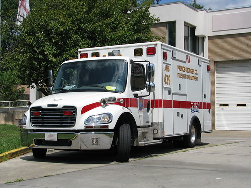 Bowie Pointer Ridge Ambulance