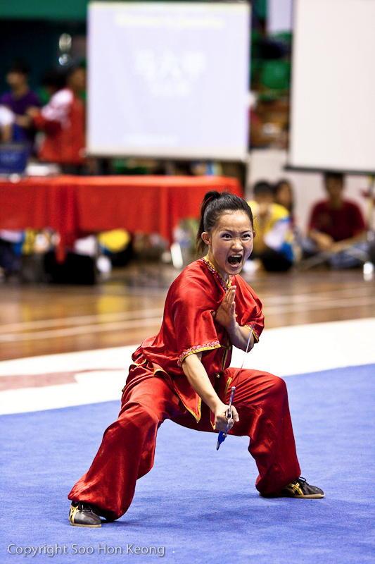 Wushu Competition (Scream) @ KL, Malaysia
