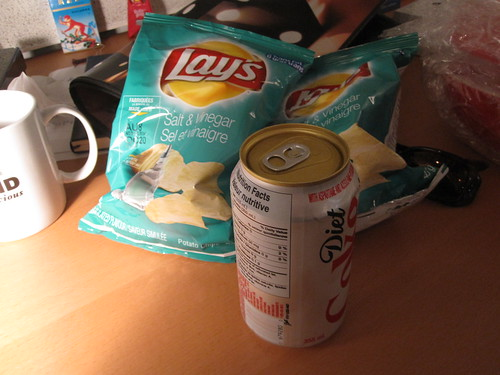 Chips and Diet Coke - $2.50