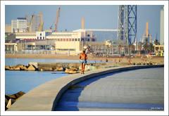 Runner (Pemisera) Tags: barcelona port puerto running catalonia barceloneta catalunya runner cataluña corredor catalogna barcelonès catalogne coureur katalonia pemisera