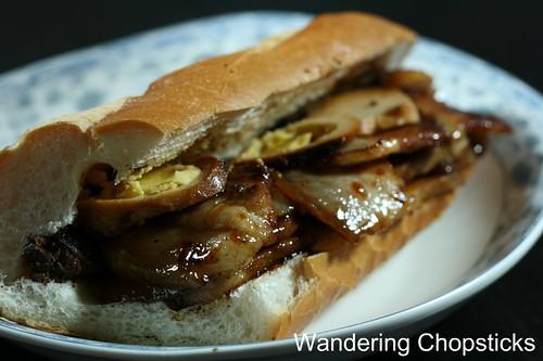 Banh Mi Thit Kho Trung (Vietnamese Braised Pork and Egg Sandwich) 1