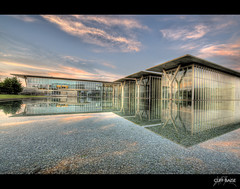 Immaculate Reflection (Cliff_Baise) Tags: museum nikon modernart moma hdr fortworth d700 cliffbaise