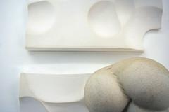Formative Restraints (madebyafriend. www.brekkefriend.blogspot.co.uk) Tags: manipulated japanese sand ceramics bondage plaster cast bond neutral formed shibari