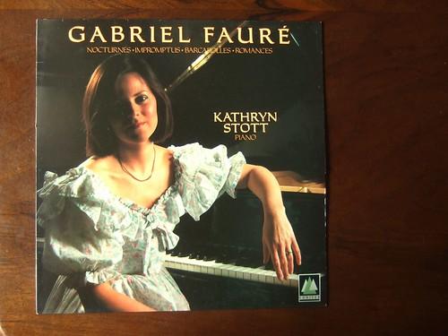 Faure - Nocturnes, Impromptus, Barcarolles, Romances - Kathryn Stott Piano, Conifer CFC 138