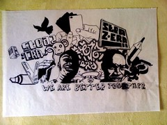 sTEAZ & ERa (Justice Mukheli) Tags: street art illustration pen drawing pop line charector paperdrawing