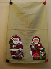 Pano de Pratos Natal (Jaque Sobral) Tags: natal papainoel guardanapos mamenoel panodepratos