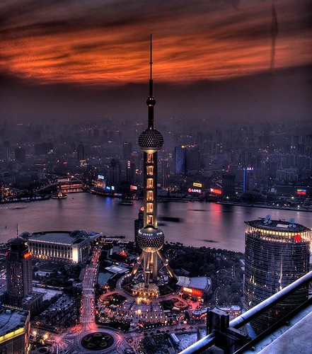Shanghai at nite