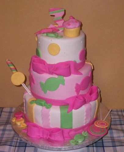 Candy Shoppe Cake