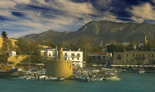 Late summer at Girne Habour