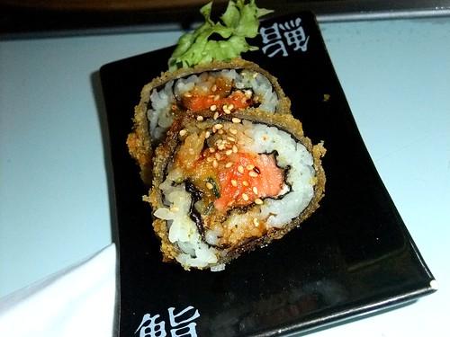 Crispy Salmon Maki