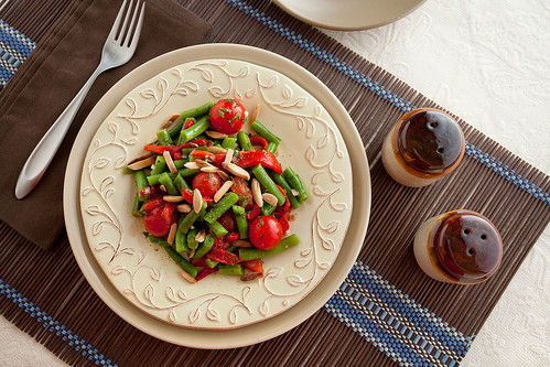 Roasted Pepper and Green Bean Salad