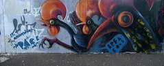 galos de Barcelos (BREakONE) Tags: birthday wall de happy graffiti break porto rooster feliz aniversário 2009 oporto barcelos galos breakone matusenhos