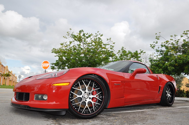 Corvette Z06 w Forza Forged Wheels by ForzaForged