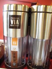 Starbucks Via travel mug