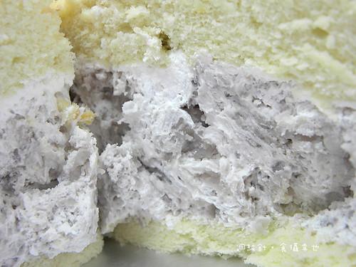 南投萊緹蛋糕芋頭波士頓派芋泥仔細看