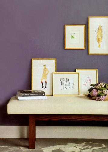 this-is-glamorous-ead-living-purple-wall-entryway