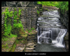 H_Falls_B ([Chris Tennant]) Tags: statepark longexposure ny nature beauty olympus waterfalls serenity pointandshoot ithaca fingerlakes tompkinscounty roberttreman silkeffect