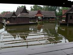 Fish Traps . (sccart) Tags: thailand floatingmarket intheworld samutprakan muangboran ancientcity bangpoo floatingpavilion ancientsiam largestopenairmuseum
