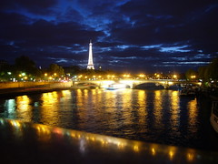 Eiffel Tower dazzle lights