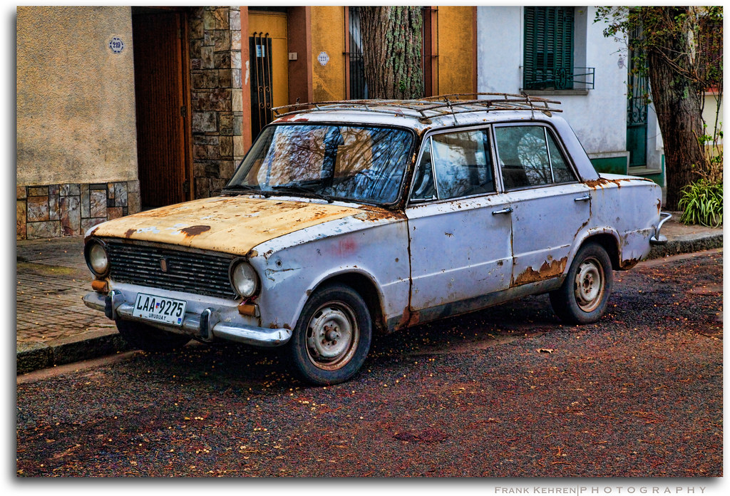Rusty Fiat by Frank Kehren, on Flickr