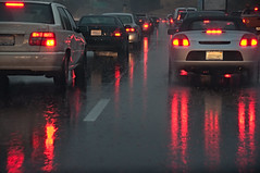 Driving in the rain (Images by John 'K') Tags: rain driving commute johnk d5000 johnkrzesinski randomok