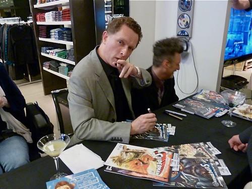 James Robinson Signing at Bloomingdales - James and James