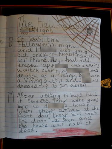H's Hallowe'en story, part 1/3